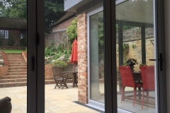 Kitchen & dining room extension completed