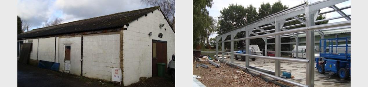 New barn - Leighton Buzzard