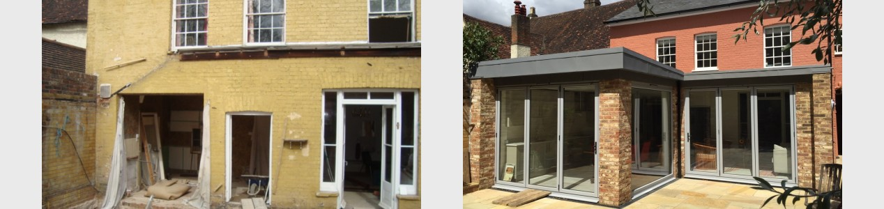 Renovation & extension of listed building - Berkhamsted
